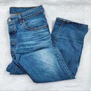 LEVI'S   501 Button Fly Denim Jeans Sz 32x32